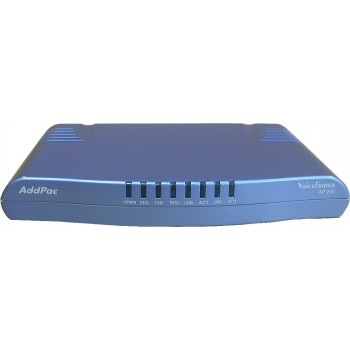 AddPac AP200E - VoIP шлюз, 1 порт FXO и 1 порт FXS H.323/SIP/MGCP